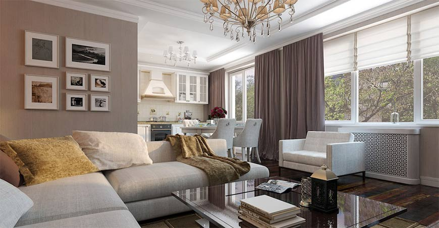 дизайн для квартиры на 3 комнаты
