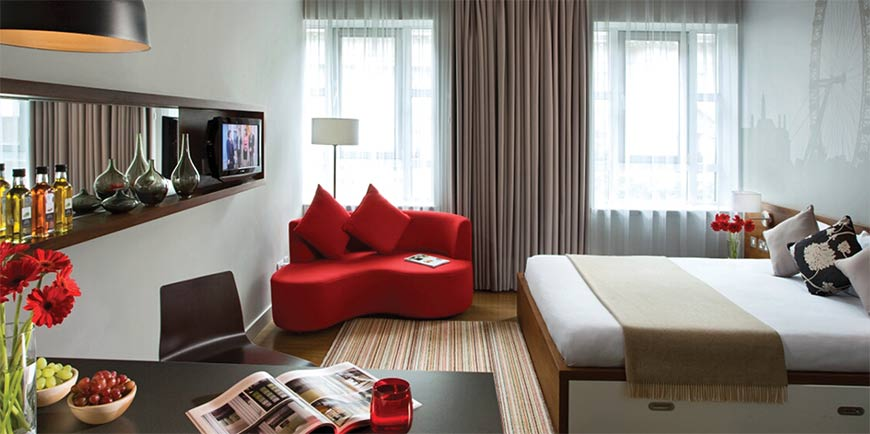 интерестный дизайн трехкомнатной квартиры