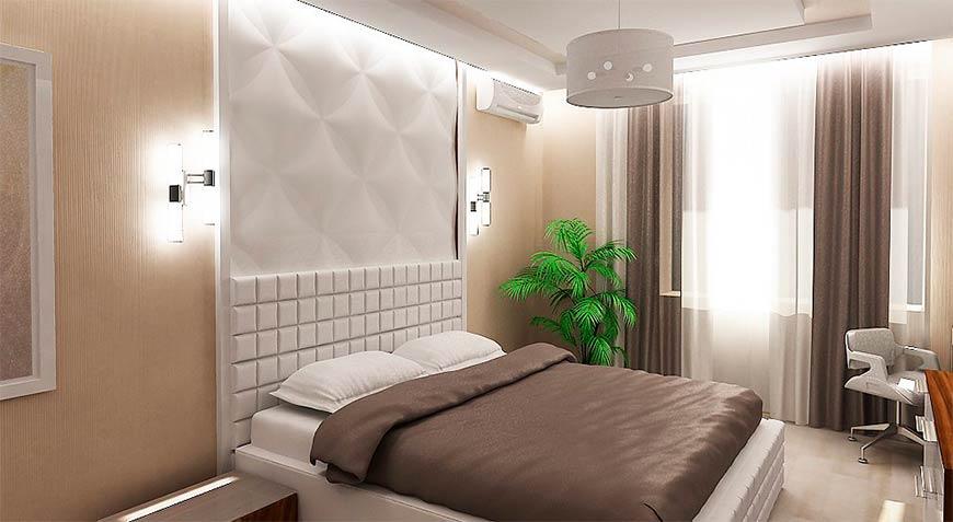 как сделать освищение спальни