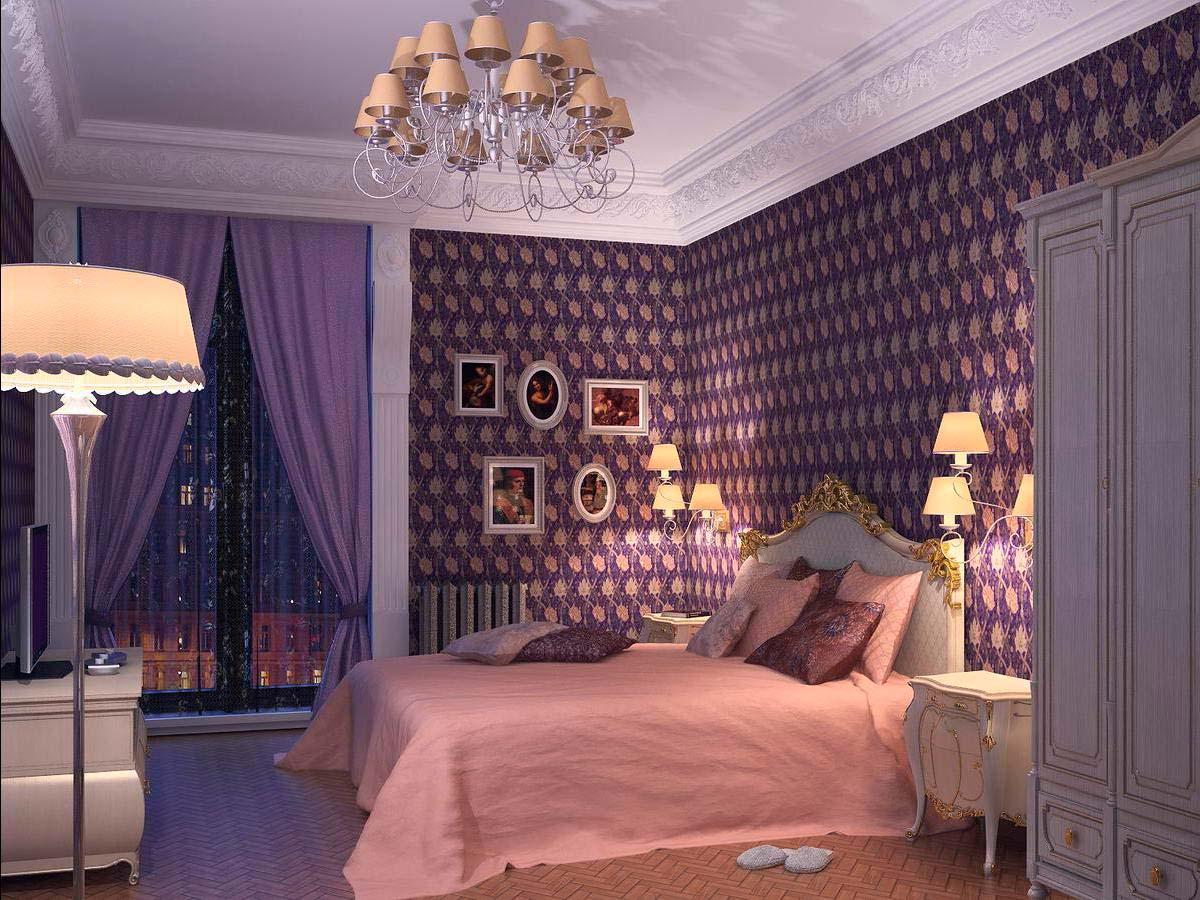 Интерьер спальни 12 кв м своими руками