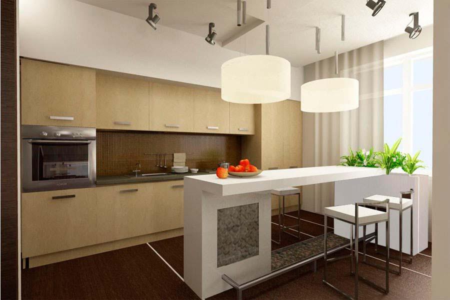 Дизайн интерьера кухни фото 10 кв.м