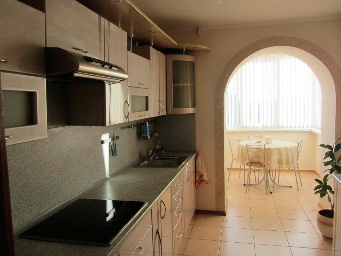 Дизайн кухни 9 кв. м: фото дизайна интерьера, обустройство к.