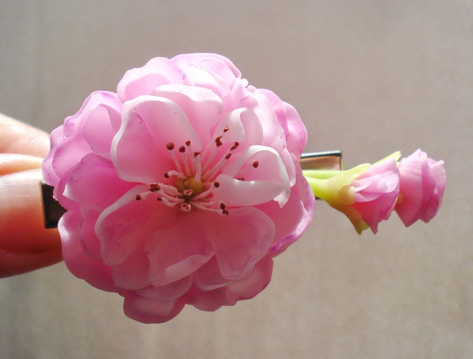Цветы из полимерной глины: пошаговая инструкция для начинающих 9