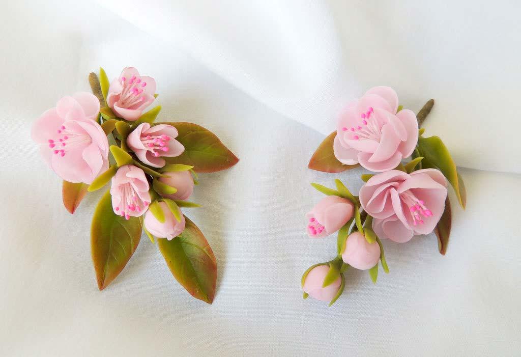 Холодный фарфор своими руками цветы для начинающих фото 479