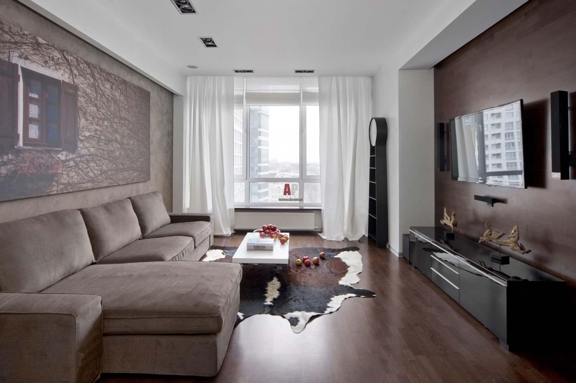 Дизайн трехкомнатной квартиры 2017-2018
