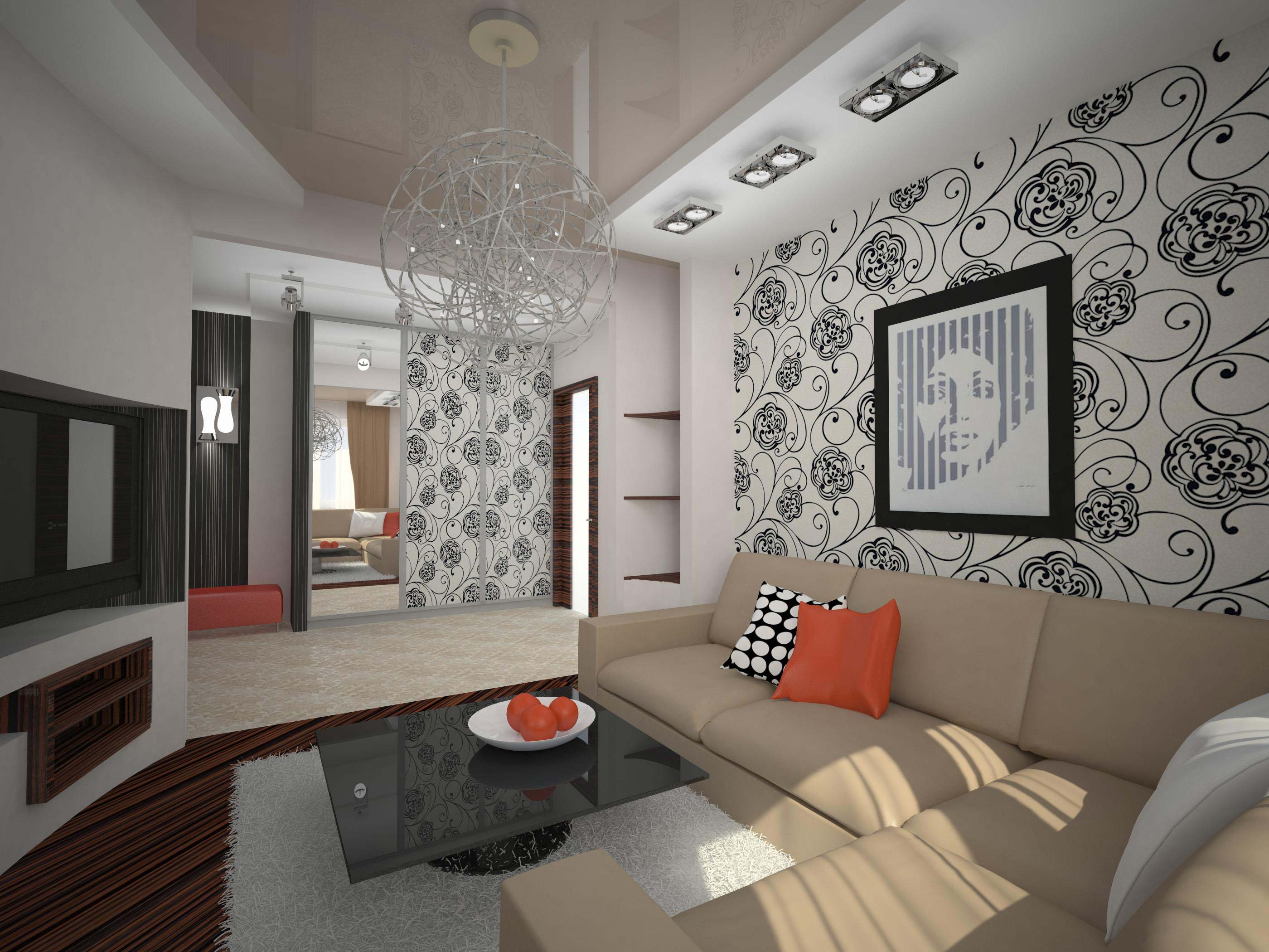 Ремонт квартир зал дизайн