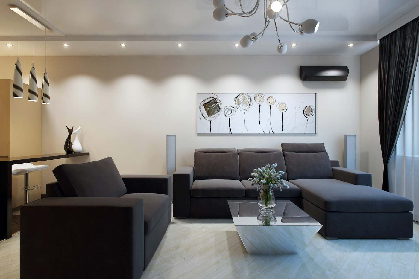 Дизайн проекты квартир в многоэтажном доме фото
