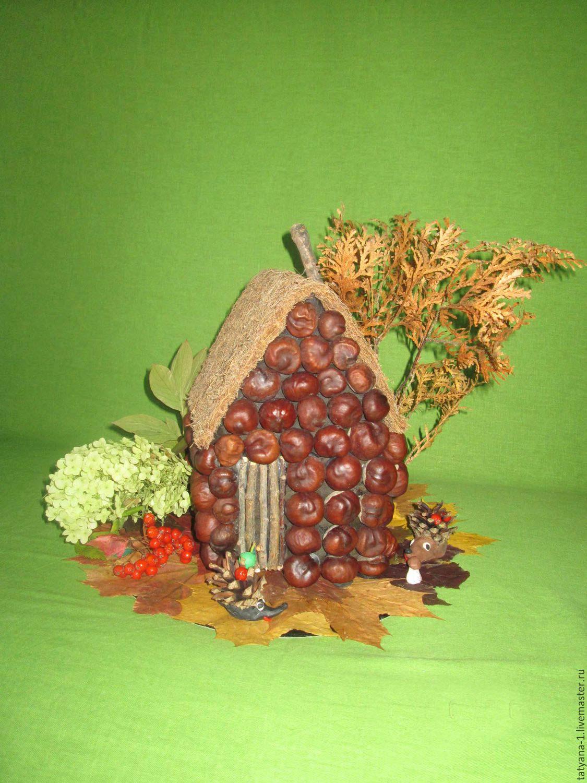 Поделки из жёлудей на тему осень