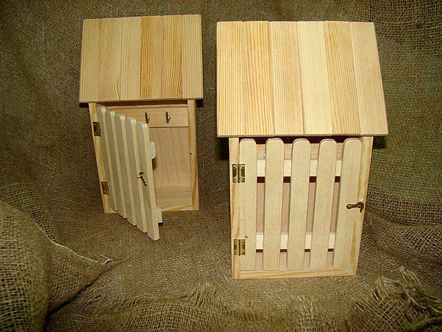 Ключница из дерева домик своими руками 87