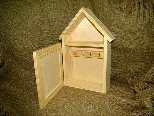 Ключница своими руками настенная из коробки фото пошагово