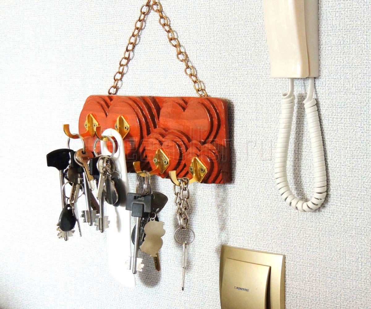 Идеи для ключницы своими руками фото