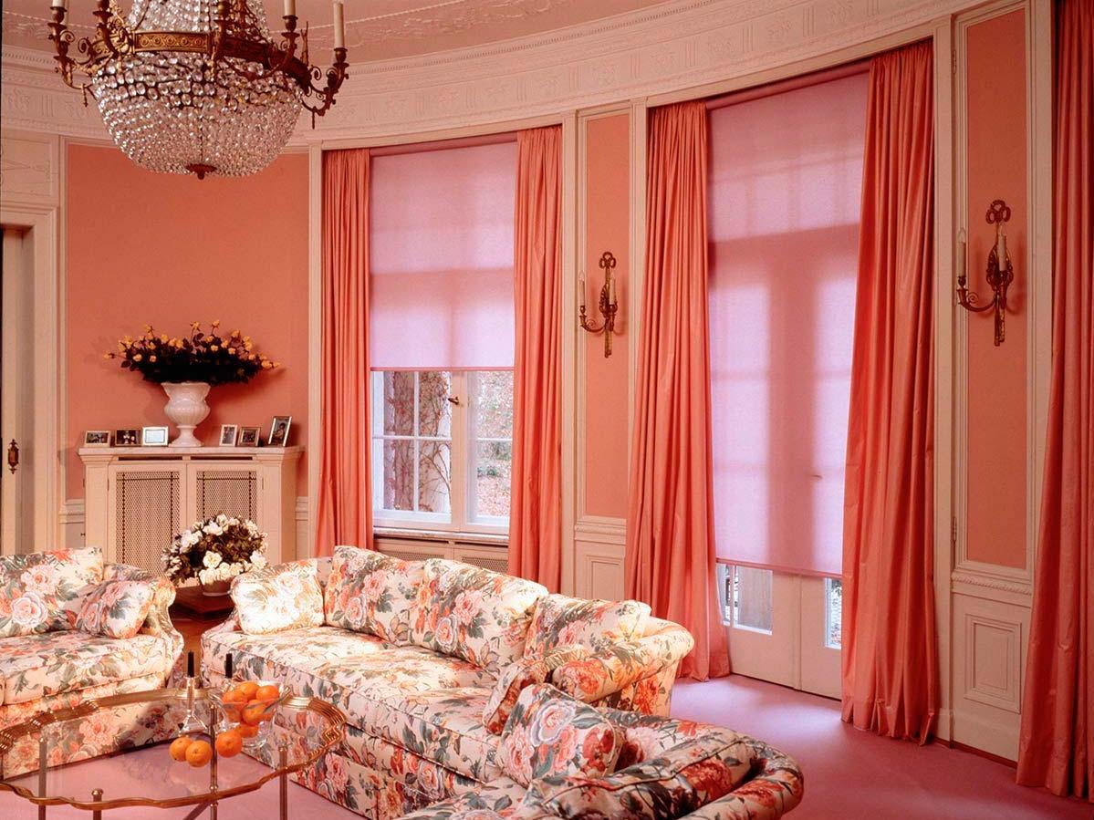 Интерьеры штор и занавесок