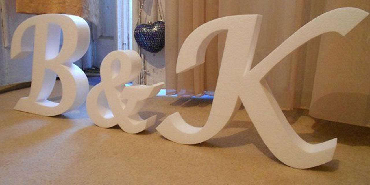 Чем украсить буквы из пенопласта своими руками фото