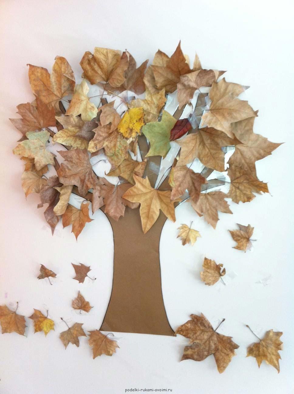 Осенние поделки своими руками для школы и детского сада из 75