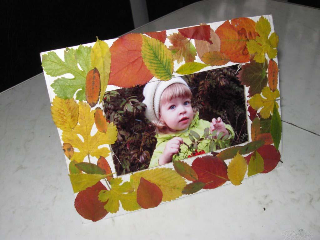Поделки из листьев своими руками фото 80