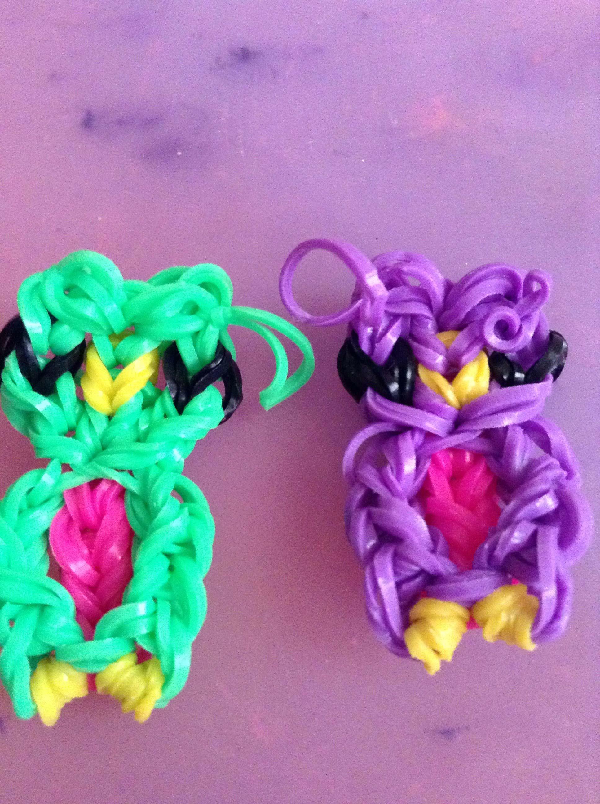 Поделки из резинок для плетения от сергея