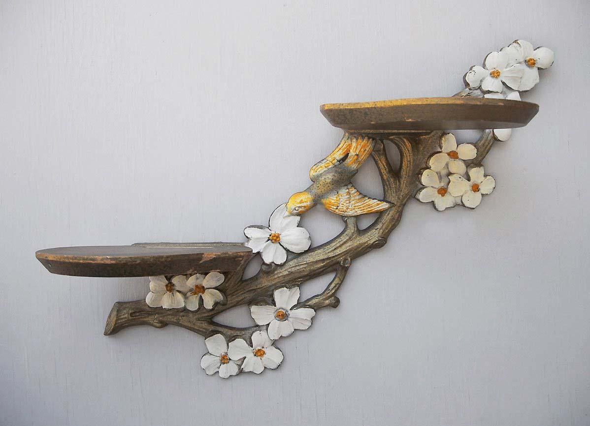Полки для цветов из дерева своими руками фото