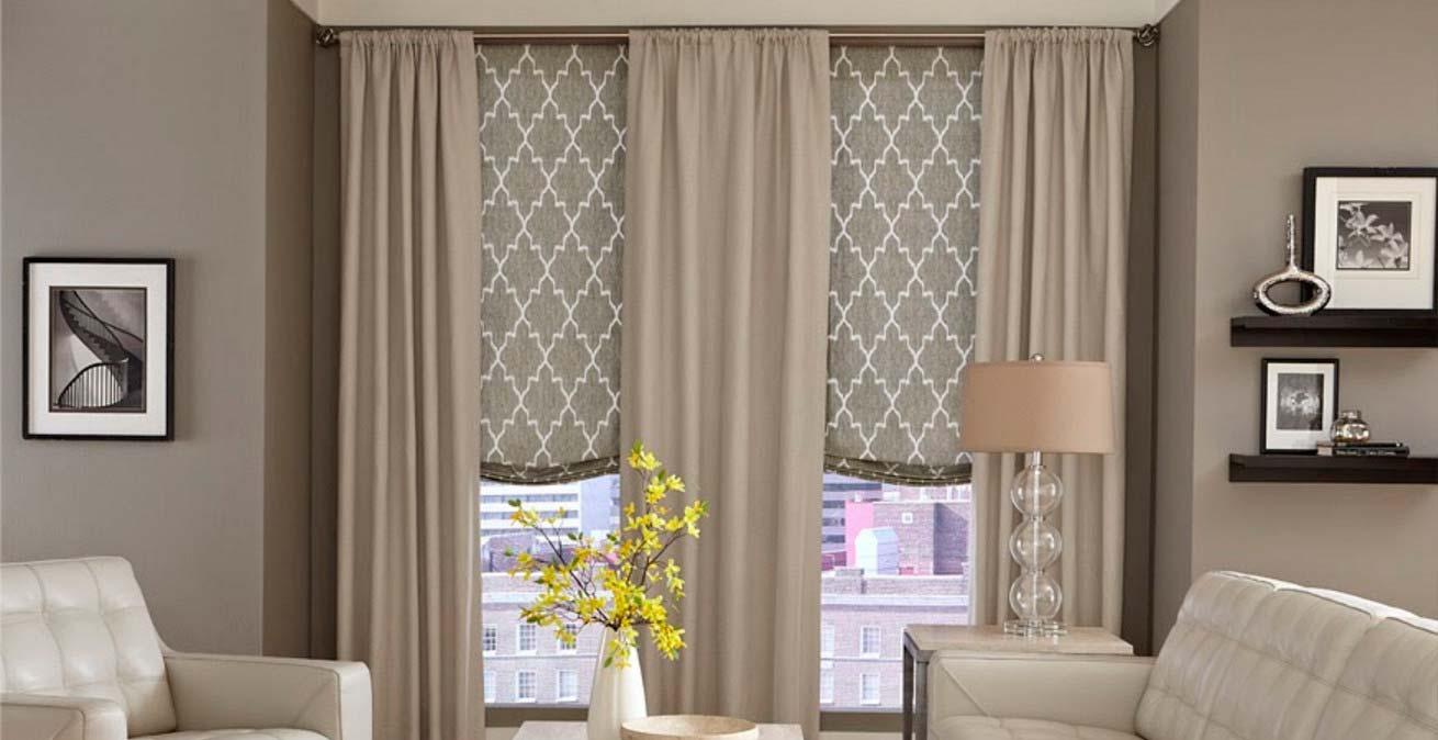 Дизайн штор в современном стиле