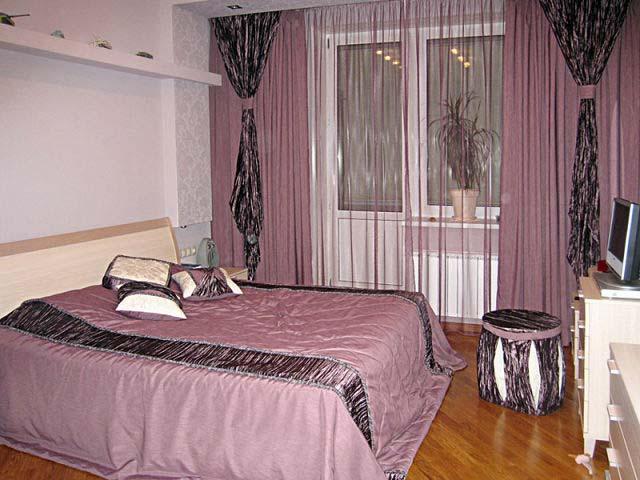 Фасоны штор для спальни фото своими руками 17
