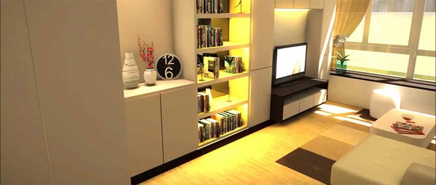 освещение квартиры 36 кв.м.