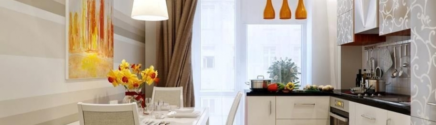 Дизайн кухни 6 кв. м.: организация пространства, фото идеи