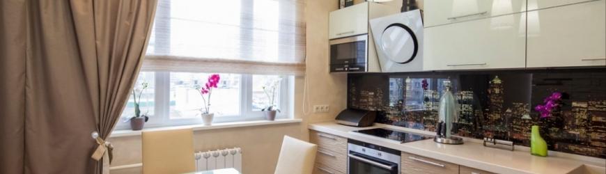 Дизайн кухни 9 кв. м. - планировка, обустройство, фото идеи
