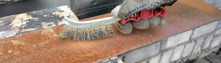Как убрать ржавчину с металла: обзор способов