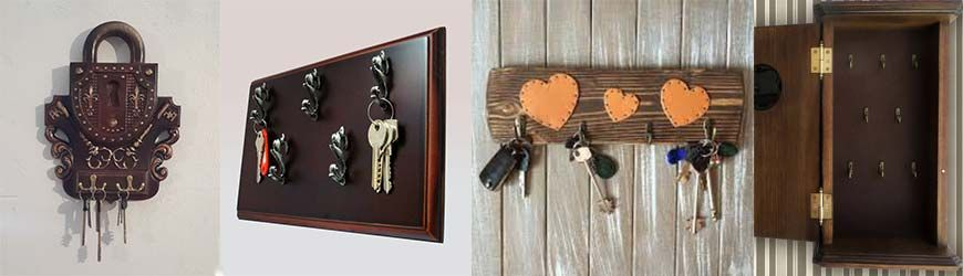 Ключница своими руками: фото, мастер класс, виды ключниц