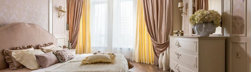 Шторы для спальни: советы по выбору цвета и стиля, фото дизайна штор