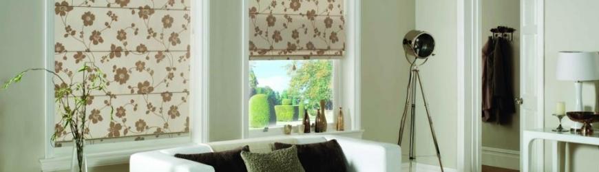 Римские шторы в дизайне интерьера: виды, уход, сочетание