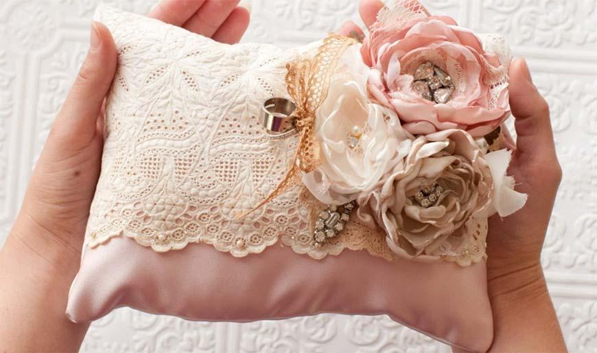 свадебные оригинальные подушки