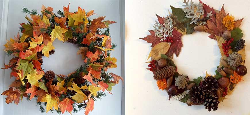 венок-из-листьев