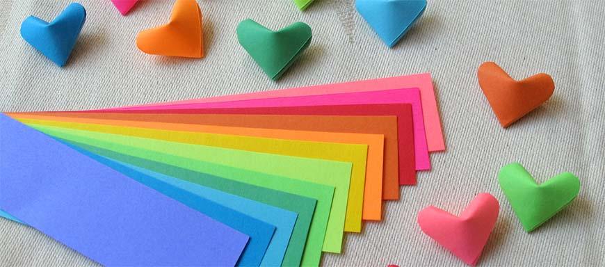 выбор бумаги для оригами